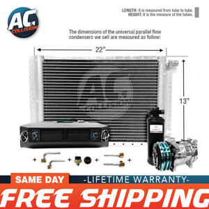 Ac Kit Universal Evaporator Underdash Unit Compressor And Condenser 13 X 22