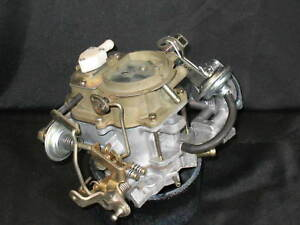 Ros 1978 Carter Bbd Jeep 2bbl Carburetor 8284s 258 Eng All Trans Bolt On Ready