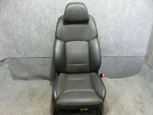 Bmw Activehybrido 7 Front Seat Electric Black Leather W comfort Original 2012