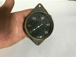 1933 Plymouth Used Mopar Oil Pressure Gauge 33
