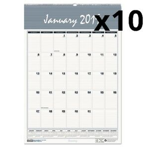 Recycled Bar Harbor Wirebound Monthly Wall Calendar 8 1 2 X 11 2019