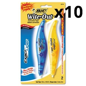 Wite out Exact Liner Correction Tape 1 5 X 236 Blue orange 2 pack Pack Of