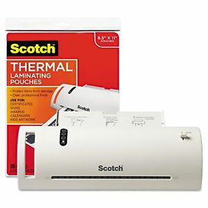 Scotch Thermal Laminate Machine And Pouches
