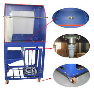 Vertical Type Screen Printing Washout Tank Backlighting Silk Screen Washingbooth