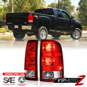 For 07 13 Gmc Sierra 1500 2500hd 3500hd Tail Light Lamp Replacement L R Assembly