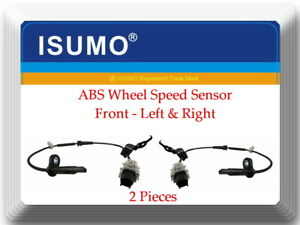 2 X Abs Wheel Speed Sensor Front L r Fits Acura Tlx 2015 2017 Accord 2013 2017