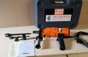 Weka Core Bore Dk12 Made In Germany 3 Speed Hand Held Core Drill Hilti Husqvarna