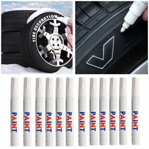 Waterproof White Car Auto Tyre Tire Tread Rubber Paint Pen Markers Permanent Hot