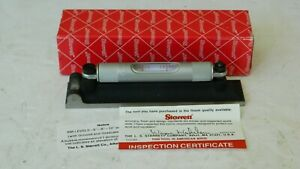 Clean Starrett 98 6 Machinist s Level W Box Papers 6