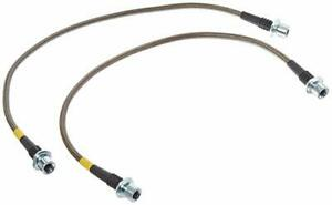 Stoptech Stainless Steel Braided Front Brake Lines Chevy Silverardo 1500 99 06