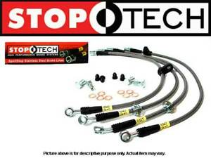 Stoptech Stainless Steel Braided Front Rear Brake Lines Integra 94 01 Db Dc