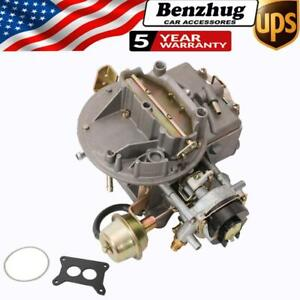 300cfm 2 Barrel 2150 Carb For Jeep Ford Mustang F150 250 350 289 302 351 360 Cu