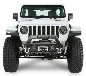Smittybilt 76730 Stryker Front Bumper 2007 2020 Jl And Jk For Jeep Wrangler