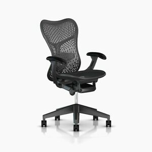 Open Box Herman Miller Mirra 2 Home Office Chair Black Graphite