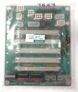 Thermo 42c Nox Analyzer Motherboard P n 9827 64p7189 Backplane Teco