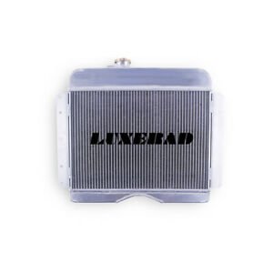 Luxerad 3 Rows Aluminum Racing Radiator For 1946 1964 Jeep Willys Station Wagon