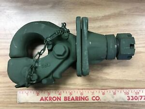 Military Pintle Hook Swivel New Old Stock free Shipping