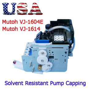 Usa Mutoh Vj 1604e Vj 1614 Solvent Resistant Pump Capping Assembly