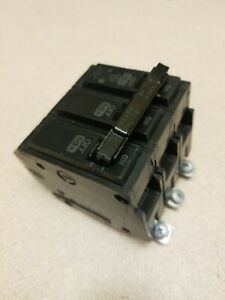 Ge General Electric Circuit Breaker Thqb32060 60 Amp A 60a 3 Pole 3p Used