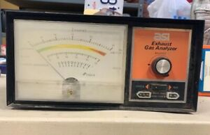 Vintage Asi Exhaust Gas Analyzer Diagnostic Tool estate Find