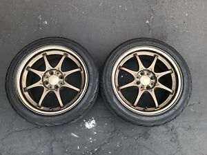 Rays Volk Racing Ce28n 16x7 33 4x100 Dc2 Itr Dc2r Eg6 Ek4 Ek9 Em1 2 Wheels Only