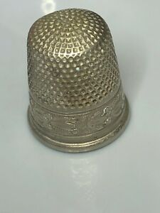 Thimble Simons Brothers Matk Nickel Silver