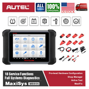 Autel Maxisys Ms906 Pro Auto Diagnostic Scanner Scan Tool Immobilizer Matching