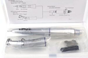 Dental Low Slow Speed Handpiece Nsk Japan Motor Contra Angle Straight Nose 2hole