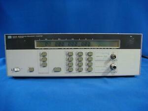 Agilent Hp 5350b 20 Ghz Frequency Counter With Options 001 006