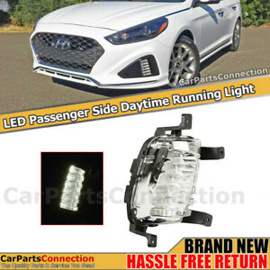 Right Passenger Drl Lamp For 18 19 Hyundai Sonata Sport Daytime Running Light