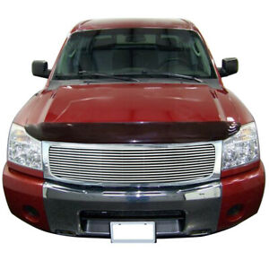 Fit For 2005 2007 Nissan Armada Chrome Aluminum Billet Grille shell