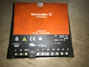 Weidmuller Power Supply 8708680000 Free Shipping To Lower 48 With Warranty