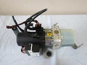 2003 2010 Vw Beetle Convertible Sun Roof Top Hydraulic Motor Pump Oem 1y0871789b