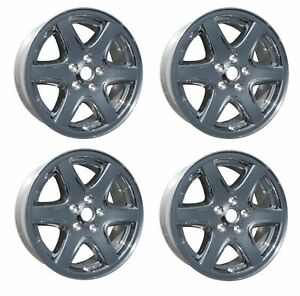 4 Qty Replacement New 17 2003 2004 For Jeep Liberty Alloy Wheel Rim 9