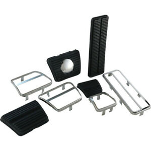 Camaro Pedal Pad Trim Kit For Cars With Front Disc Brakes Manual