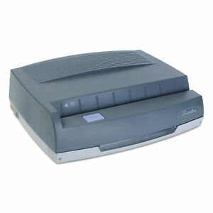 Swingline 50 sheet 350md Electric Three hole Punch 9 32 Holes Gray 9800350