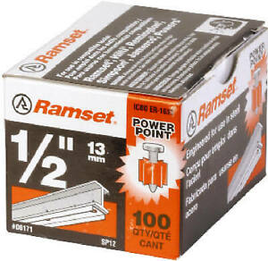 Itw Brands 06171 Point Pin 5 in 100 pk