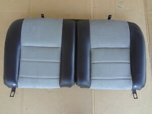 2003 2004 Mustang Cobra Gray Coupe Rear Seat Tops Frame Oem Sku P28