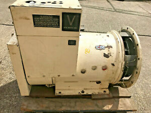 Em Bemac Ii 100kw 125kva 3 Phase Generator Only No Drive Id 502
