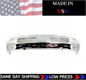 New Usa Made Chrome Front Bumper For 1994 2001 Dodge Ram 1500 2500 3500