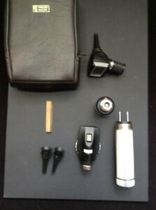 Welch Allyn Otoscope Ophthalmoscope Complete Diagnostic Set