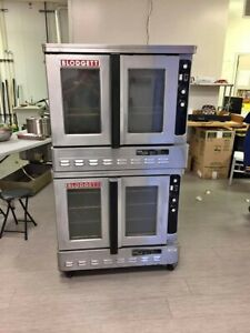 Blodgett Convection Double Oven Natural Gas Zephaire g Full Size