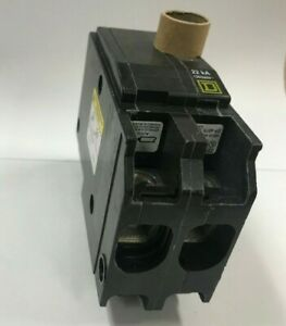 New In Box Square D Qo2100vh 100 Amp 2 Pole 120 240v 22k Plug On Circuit Breaker
