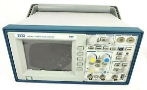 Bk Precision 2532 Digital Storage Oscilloscope 40 Mhz 500 Msa s