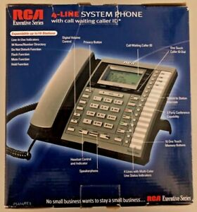 Rca 25414re3 a Executive Series Corded Desk Telephones