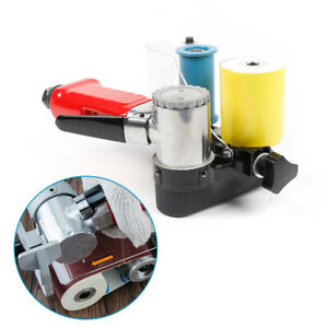 Mini Pneumatic Belt Sander Air Belt Machine For Metal Wood Grinding Polishing