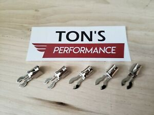 Fork Nickel Spark Plug Wire Ends Clips Crimp Terminals Maytag Briggs Hit Miss