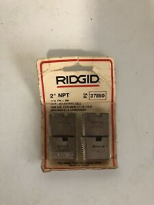 Ridgid 2 Npt 12 r Alloy Pipe Dies Cat 37850