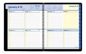 At a glance Quicknotes Weekly monthly Planner 8 X 10 Black Jan dec 2020