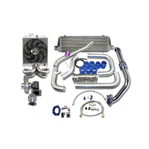 Cxracing Turbo Intercooler Kit For 1988 2000 Honda Civic B16 B18 B Series